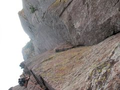 Rock Climbing Photo: over the hill on the rincon walls is BA