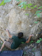 Rock Climbing Photo: Start of Ivy in My Arse.