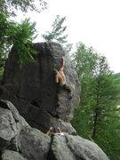 Rock Climbing Photo: The admin happy to go highball.