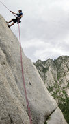 Rock Climbing Photo: Rappel with Great Exposure