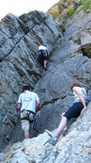 Rock Climbing Photo: This climb feels different each time i climb it.  ...