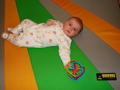 Rock Climbing Photo: The new playmat!