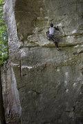 Rock Climbing Photo: Doug Fischer climbing Narcissus