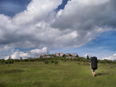 Rock Climbing Photo: Nearing the Highlands Area, GHSP