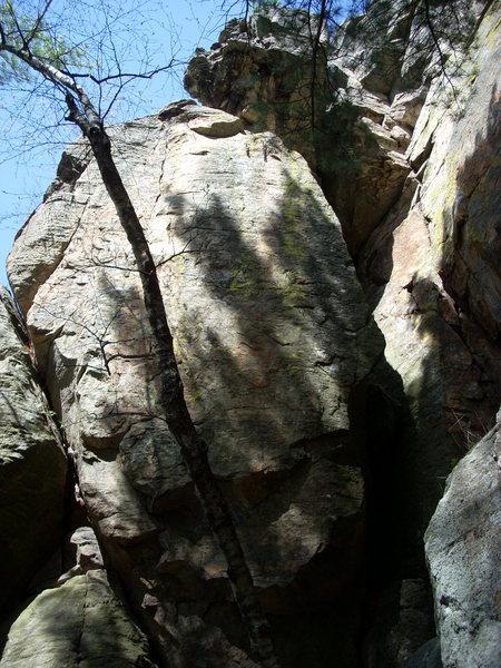 "Rock Climbing Photo: Arete on the right is ""Twenty Feet of Meat&qu..."