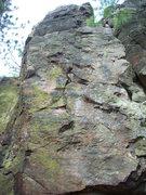 Rock Climbing Photo: Really bad idea.