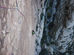 Rock Climbing Photo: Fiddler on the roof pitch 5