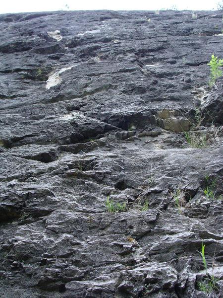 Rock Climbing Photo: Start of Whao