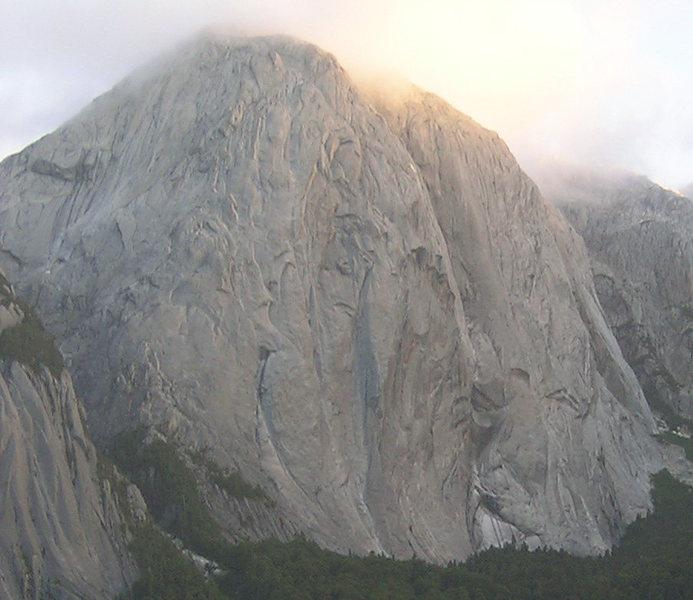 Rock Climbing Photo: A view of Trinidad.