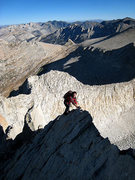 Rock Climbing Photo: Miguel does Peter Croft in one of the best Sierra ...
