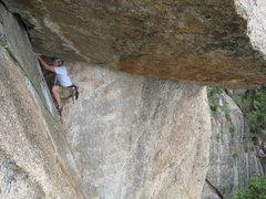 Rock Climbing Photo: Gotta believe in the undercling...
