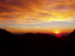 Rock Climbing Photo: Sometimes the sunrises here are so incredibly amaz...