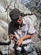 Rock Climbing Photo: Shingo beta