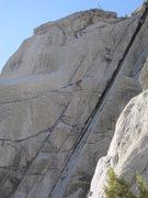 Rock Climbing Photo: more pitch 2