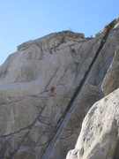 Rock Climbing Photo: the finish