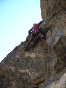 Rock Climbing Photo: Darren on pitch 2 - FA of Ride the Snake & Gneiss ...