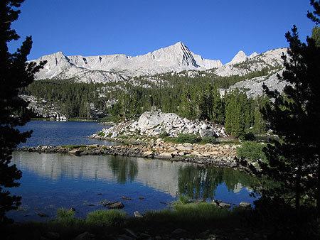 Pine Lake, the gateway to Granite Park