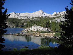 Rock Climbing Photo: Pine Lake, the gateway to Granite Park