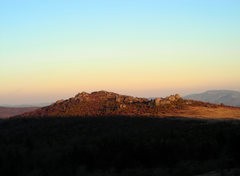 Rock Climbing Photo: The view of the first cluster (Horizon Area on the...