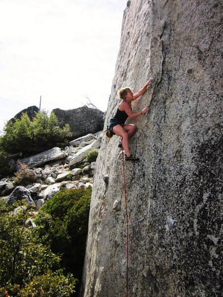 Rock Climbing Photo: Start of Lesbian Love.