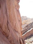 Rock Climbing Photo: Lance on P1 5.11..all on sight, ground up.