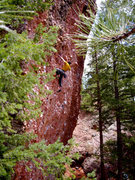 Rock Climbing Photo: El Rito, NM