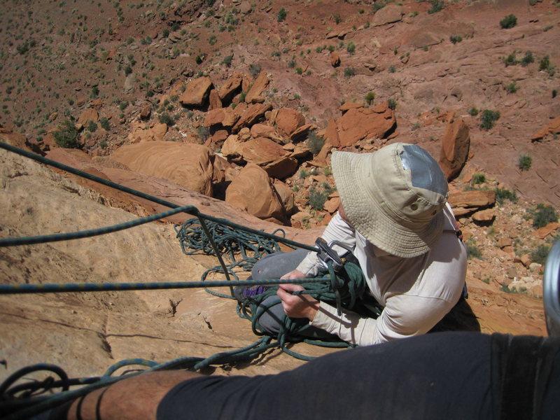 Rock Climbing Photo: Desert hard hat