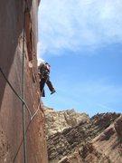 Rock Climbing Photo: Lance P2