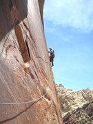 Rock Climbing Photo: Lance P2.All on sight ground up placing pro on lea...