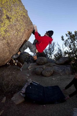 Rock Climbing Photo: Hung Like John