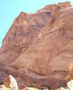 Rock Climbing Photo: The Climbs. A)Blockbuster.5.11+ B)Necropolis.5.11....