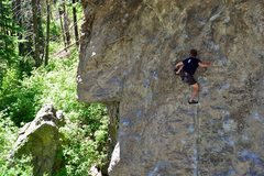 """Rock Climbing Photo: """"Unapproved beta"""" usage by Keith on Agai..."""