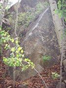 Rock Climbing Photo: Intro Arete V3.