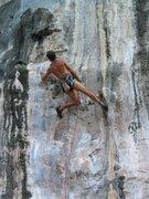 Rock Climbing Photo: Jim on Reminiscence