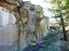 Rock Climbing Photo: Hidden Cliff, Pocketopia.