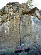 Rock Climbing Photo: Hidden Cliff Right Topo