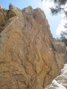 Rock Climbing Photo: The South Face of the Spring Crag