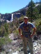 Rock Climbing Photo: Nevada Falls, Yosemite.