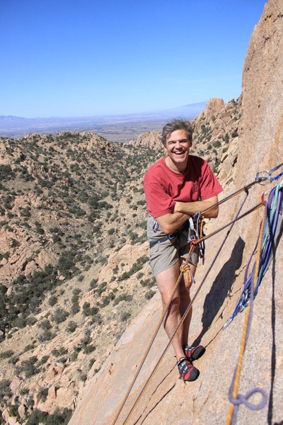 Rock Climbing Photo: At Cochees Stronghold AZ 2/2010
