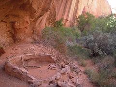 Rock Climbing Photo: Cool! a native grainary.