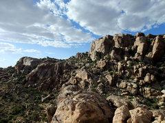 Rock Climbing Photo: Looking back toward Walt's Rocks