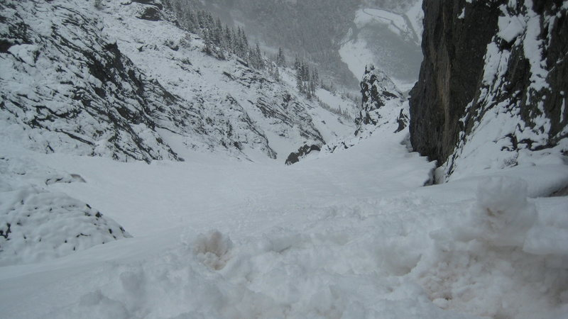 Mid June conditions for the 1st half of the Dragon tail route.  The rest is mostly melted out.