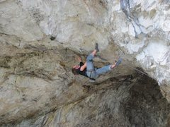 Rock Climbing Photo: Marty Bland on Short Bus, 12d.