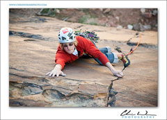 Rock Climbing Photo: Mushroom People 5.10c Red Rocks, Nevada