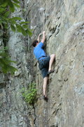 Rock Climbing Photo: This is a 10a at the lower wall