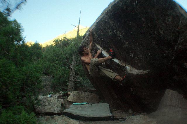 Rock Climbing Photo: Stinkin' Lincoln.