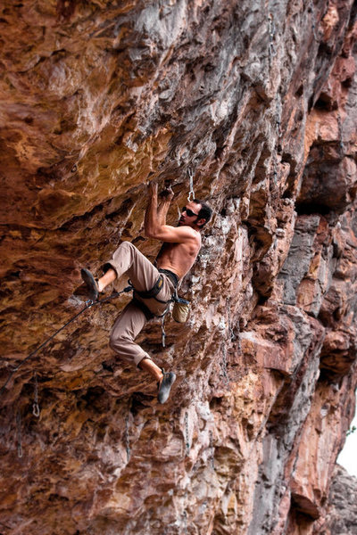 Climbing Bitches Get Stitches @ Golf Wall.