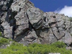 Rock Climbing Photo: Front and center, once you see it you cant unsee i...