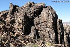 "Rock Climbing Photo: ""Hale Bop Tango"". Photo by Blitzo."