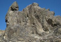 Rock Climbing Photo: Crucified Crag. Photo by Blitzo.